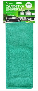 """Салфетка из микрофибры (35х40 см) """"GRASS"""" (в упак.10 шт)"""