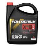 Моторное масло POLYMERIUM XPRO2 0W30 A3/B4 4л