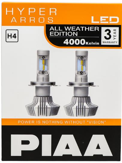 Лампа светодиодная PIAA BULB LED HYPER ARROS LEH130E (H4)