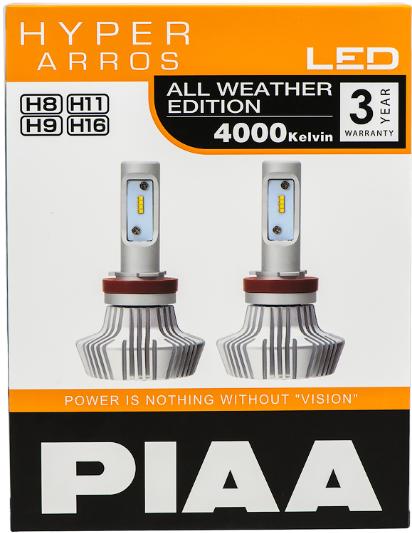 Лампа светодиодная PIAA BULB LED HYPER ARROS LEH132E (H8/H11/H9/H16)