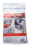 Салфетка микрофибра для стекла  Vortex 35x40