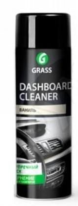 """Очиститель-полироль пластика для наружных частей """"Dashboard Cleaner"""" Ваниль (аэрозоль 650 мл)"""