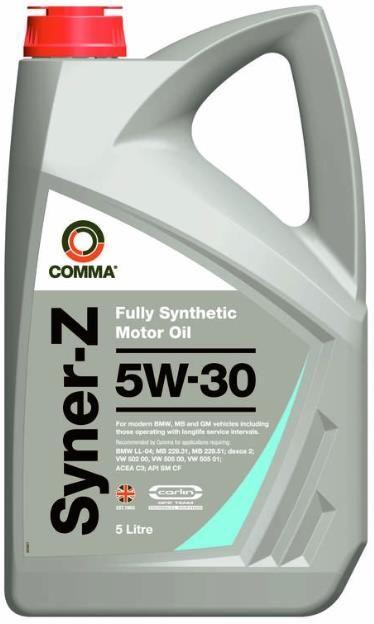 Моторное синтетическое масло Syner-Z 5W-30 5л