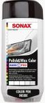 Цветной полироль с воском + карандаш(белый) Sonax Nano Pro 0.5л.