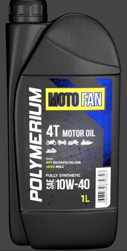 Моторное масло  POLYMERIUM MOTO-FAN 4T 10W-40 1L