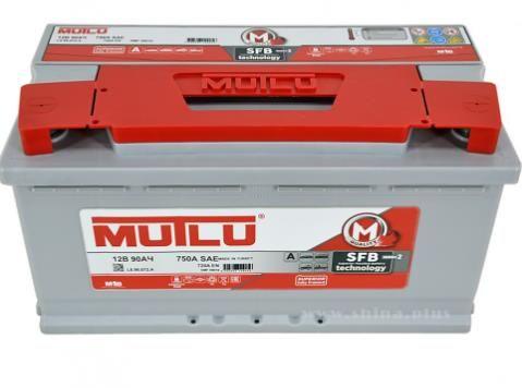 Аккумулятор 90 а/ч MUTLU SFB M2 750A обратная полярность  353*175*190