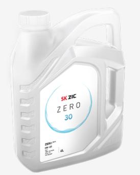 Моторное масло  ZIC ZERO 0w30  SN 4 л