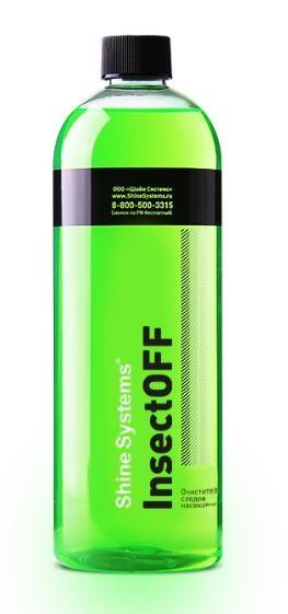 Shine Systems InsectOFF - очиститель следов насекомых, 750 мл