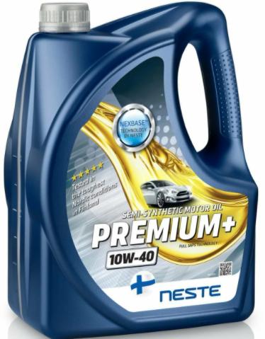 Масло моторное Neste Premium+ 10W40 4л