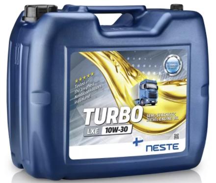 Масло моторное Neste Turbo LXE 10W30 20л
