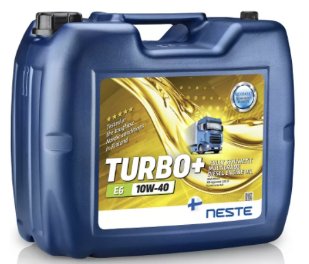 Масло моторное Neste Turbo+ E6 10W40 20л