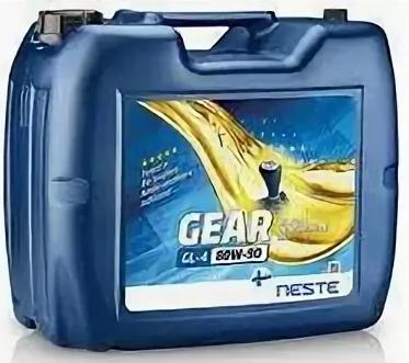 Масло трансмиссионное Neste Gear GL-4 80W90 20л