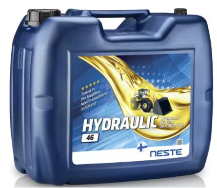Масло гидравлическое Neste Hydraulic 46 20л