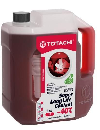 Антифриз TOTACHI SUPER LONG LIFE COOLANT Red -40C 2л