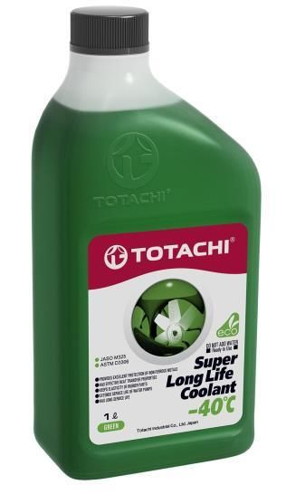 Антифриз TOTACHI SUPER LONG LIFE COOLANT Green -40C 1л