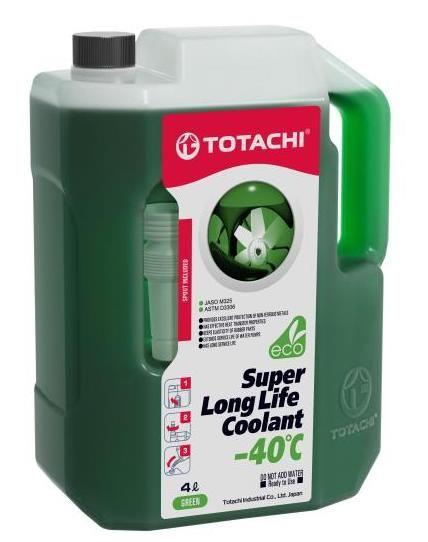 Антифриз TOTACHI SUPER LONG LIFE COOLANT Green -40C 4л