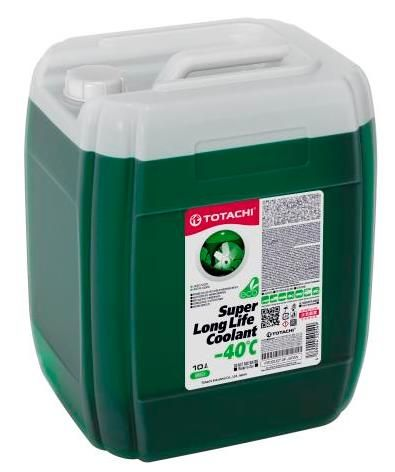 Антифриз TOTACHI SUPER LONG LIFE COOLANT Green -40C 10л