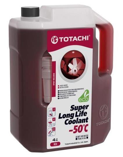 Антифриз TOTACHI SUPER LONG LIFE COOLANT Red -50C 4л