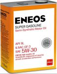 Масло моторное ENEOS Super Gasoline SL п\синт 5W30 4л