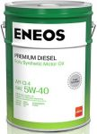 Масло моторное ENEOS Premium Diesel CI-4 5W40 20л