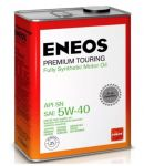 Масло моторное ENEOS Premium TOURING SN 5W40 4л