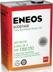 Масло моторное ENEOS Ecostage SN 0W20