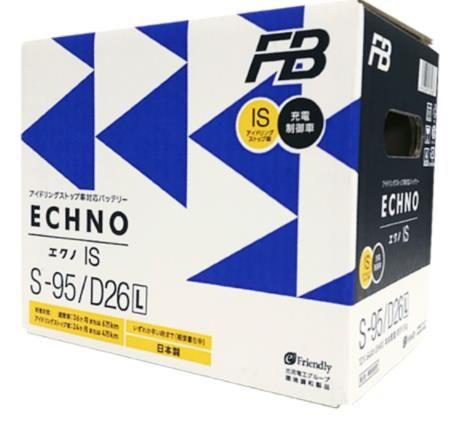 Аккумулятор  FURUKAWA BATTERY FB ECHNO IS  D26L