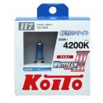 Лампа высокотемпературная Koito Whitebeam H7 4200K, комплект 2 шт.