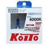 Лампа высокотемпературная Koito Whitebeam H16  4000K, комплект 2 шт.
