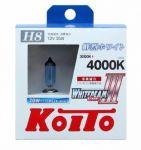 Лампа высокотемпературная Koito Whitebeam H8  4000K, комплект 2 шт.