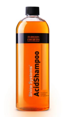 Shine Systems AcidShampoo - кислотный шампунь для ручной мойки, 750 мл
