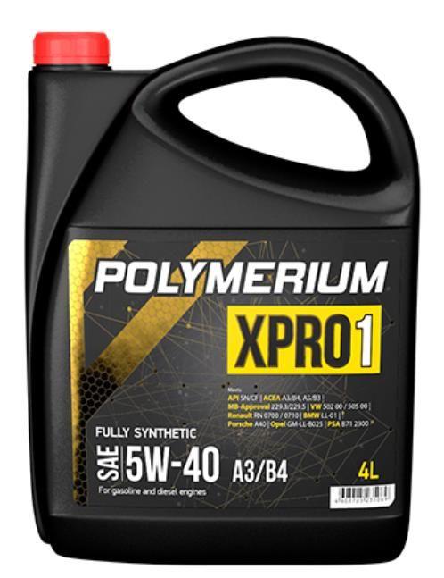 Моторное масло POLYMERIUM XPRO1 5W40 SN 4л