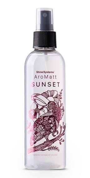 Shine Systems AroMatt Sunset - парфюм на водной основе, 200 мл
