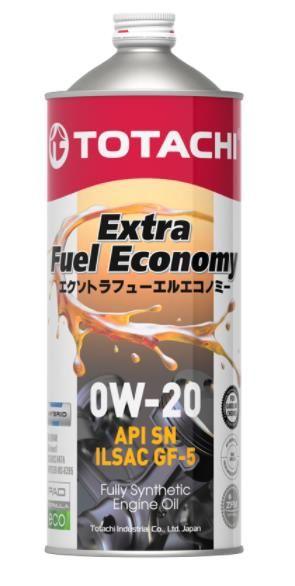 Масло моторное TOTACHI Extra Fuel SN 0W20 1л