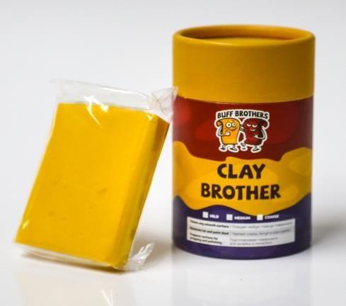 Глина полировальная неабразивная BUFF BROTHERS CLAY GOLD 100gr.