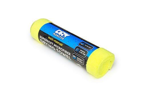 Dry Monster Drying Towel Yellow микрофибра для сушки автомобиля 60х80см