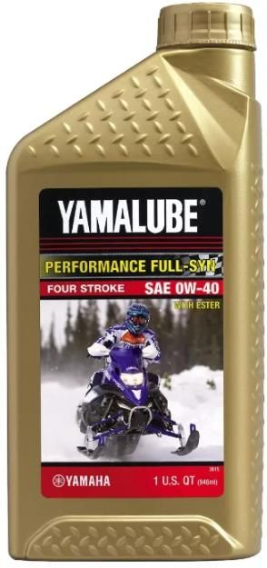 Моторное масло Yamalube 0W40 Synthetic Oil (0,946 л)