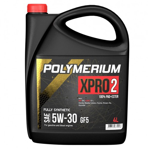 Моторное масло POLYMERIUM XPRO2 5W30 GF5 SN 4л