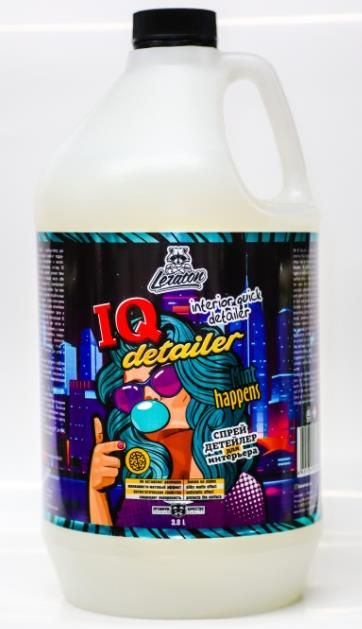 Детейлер-спрей для интерьера LERATON IQ Detailer MINT BUBBLEGUM 3,8л.