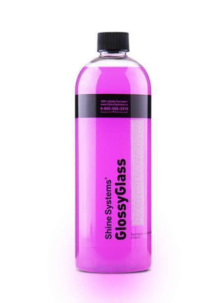 Shine Systems GlossyGlass - экспресс очиститель стекол, 750 мл