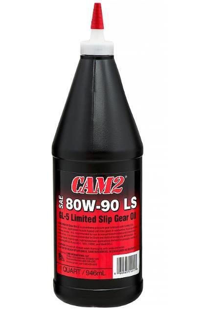 Масло трансмиссионное CAM2 GEAR OIL  LIMITED SLIP 80W90 GL-5 LS 946мл
