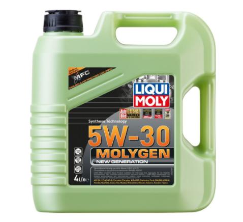 Масло моторное LIQUI MOLY Molygen New Generation 5W30 4 л API SP, ILSAC GF-6A