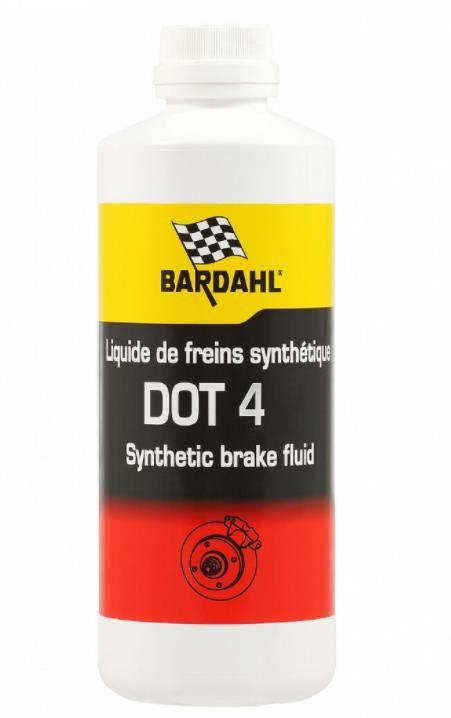 Жидкость тормозная BARDAHL DOT4  0,5л