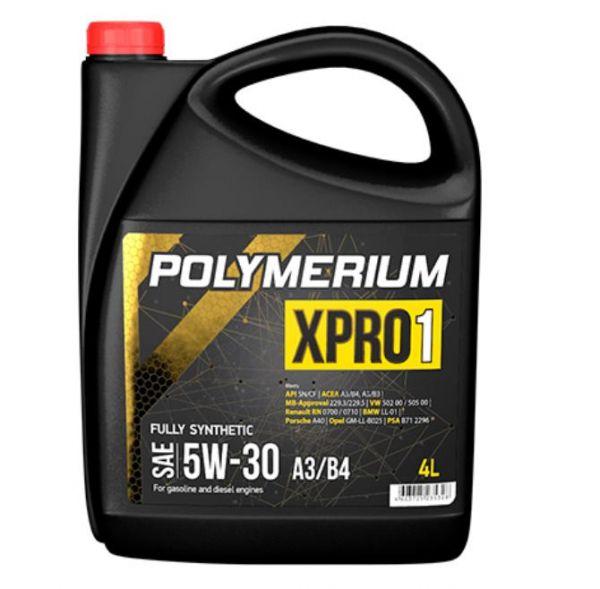 Моторное масло POLYMERIUM XPRO1 5W30 A3/B4 4л