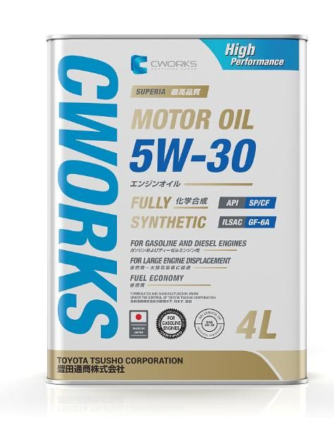 Моторное масло CWORKS SUPERIA OIL 5W30 4л