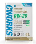 Моторное масло CWORKS SUPERIA MOTOR OIL 0W20 4л