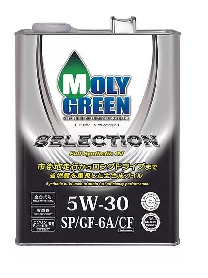 Моторное масло MOLY GREEN SELECTION 5W30 SP/GF-6A/CF (4л)