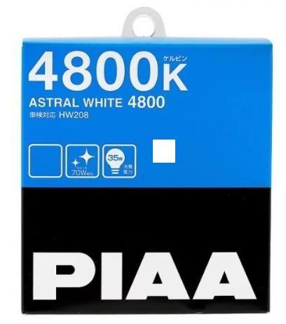 Лампы PIAA BALB ASTRAL WHITE 4800K(H4) 2шт