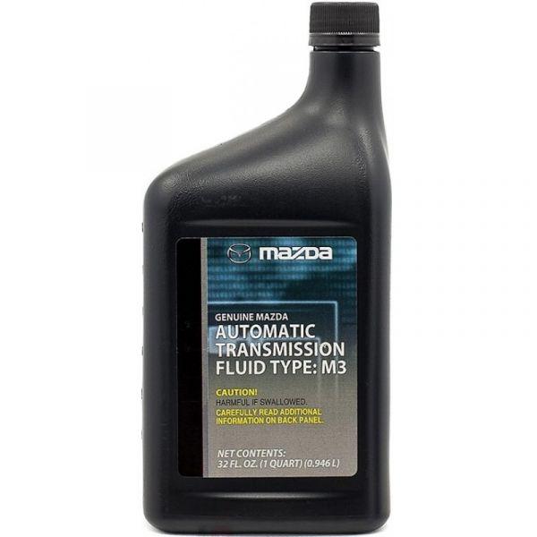 Жидкость для АКПП MAZDA ATF M-3  0,946л