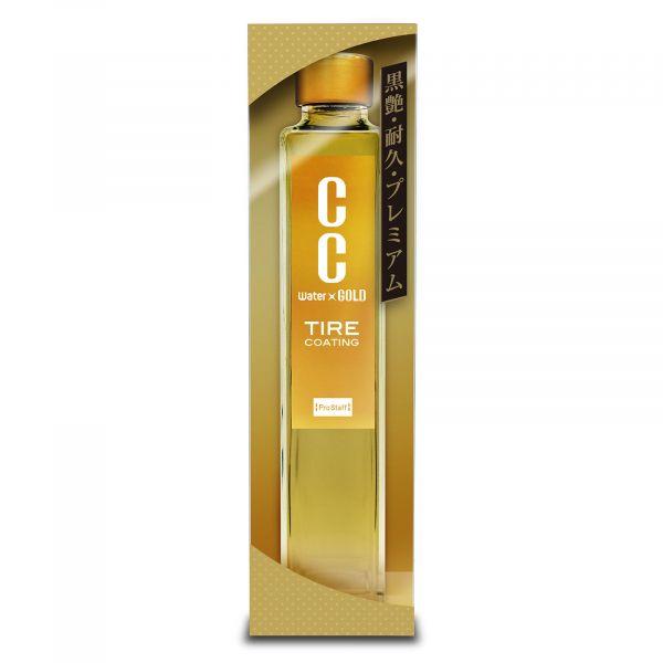 """Полироль-блеск Tire Gloss Coat """"CC Water Gold"""" Tire Coating 190мл"""